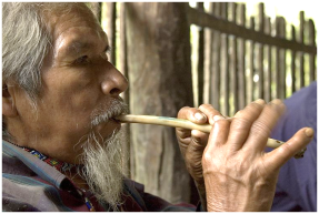 Don Sabino w flute