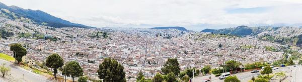 Quito wide angle